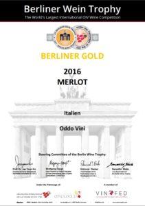 Berliner Gold merlot 2016